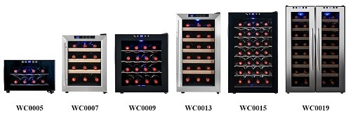 Size Of The Wine Cooler